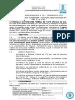 EDITAL (PROPP_RTR) n 6 de 27-01-2021