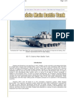 EE-T1 Osorio Main Battle Tank