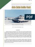 EE-T1 Osorio Main Battle Tank