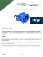 Instruction Montage Maintenance Vanne Papillon