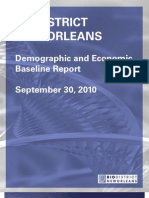 Demographic and Economic Baseline Report