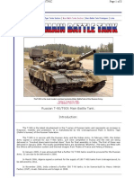 T90 Modern Battle Tank