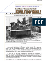 Tiger 1 Ausf.E Battle Tank