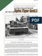 Tiger 1 Ausf.E Battle Tank