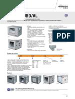 Ficha Técnica - Unidade de insuflação CJBD-AL