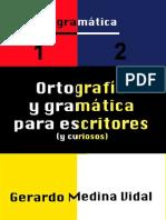 Ortografía y gramática para escritores