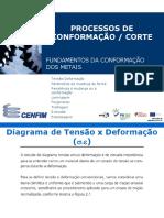TensãoxDeformação - Processos Conformação