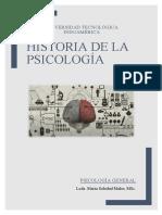 HISTORIA DE LA PASICOLOGÍA