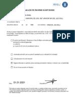 0611_Model Declaratie proprie Raspundere