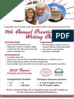 Creative Writing Challenge, Savannah, Leopold's Ice Cream