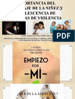 Importancia de La Atención Psicológica a Victimas De