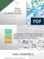 Elementos Químicos y Su Clasificación