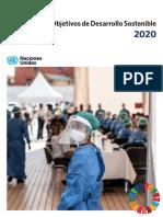 The Sustainable Development Goals Report 2020 Spanish