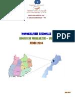 monographie  marrakech safi 2018