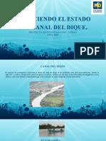presentacion conociendo el estado del canal del dique