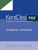 KENT Design Guide 2000 Technical Appendix