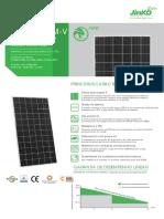 Módulo Fotovoltaico Jinko Mono 390w Jkm390m-72-V