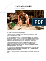 16 Weeks to a New Deadlift PR [Andy Bolton & Elliot Newman ]