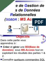 Partie Gestion_ms Access Et Sql_belbijou.ppsx