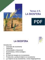 T 4- 5. La Biosfera