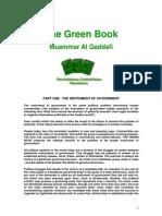 The Green Book by Muammar al-Qaddafi