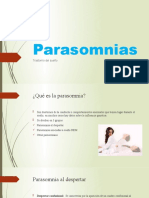 Parasomnias- V CICLO
