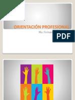 Orientacion Vocacional y Profesional Clase Postgrado 2016