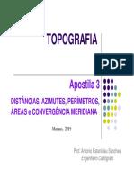 Apostila_3_TOPO_Dist,Az-e-Areas