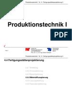 PT1 VL11 Fertigungsstaettenprojektierung II