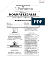 El Peruano Normas 2021