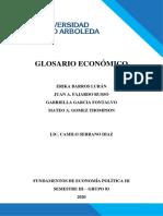Glosario de Terminos Económicos