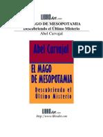 ABEL CARVAJAL - EL MAGO DE MESOPOTAMIA
