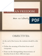 Lec 3 What is Freedom