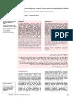 8-b-Bilans immunologiques en pré et en post transplantation rénale