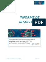 Informe Resultados Encuesta Covid19