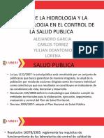 PAPEL DE LA HIDROLOGIA Y LA MICROBIOLOGIA EN.pptm