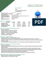 36. HS. LIMPIAVIDRIOS DARYZA