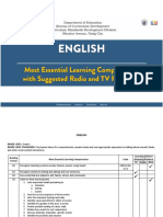 English for TVR