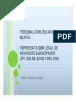 Personas Discapacidad Mental
