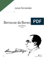 Lorenzo Fernândez - Berceuse Da Boneca Triste Op. 39