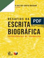 Desafios da escrita biográficas experiência de pesquisa