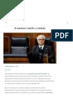 El ministro Castells y Cataluña - El Liberal