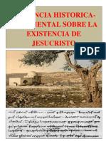Evidencias de La Existencia de Jesucristo