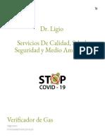 Verificador de Gas - Dr Ligio
