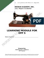 EPP 5- W16&17