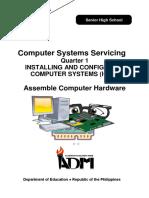 ICT CSS12 Q1 Mod1 InstallingAndConfiguringComputerSystems Complete Print