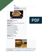 historia de la hamburguesa