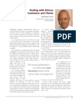 Diversity Journal   Dealing with Diverse Customers and Clients - Mar/Apr 2010