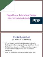 Digital-Logic-Tutorial-and-Design