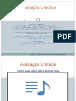 Avaliação Urinária AIF 2020